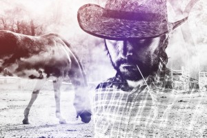 http://www.dreamstime.com/stock-photo-cowboy-farmer-wearing-straw-hat-horse-ranch-bearded-western-american-double-exposure-image-image52742710